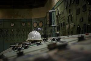 kernreactor in een wetenschappelijk instituut foto