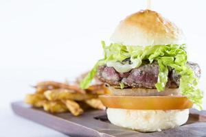 huisgemaakte hamburger