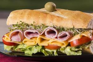 onderzeese sandwich foto