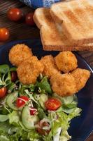gemengde salade. foto