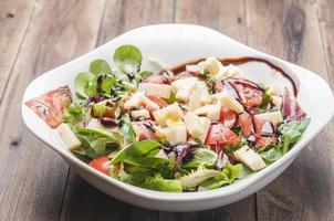 salade met kaas
