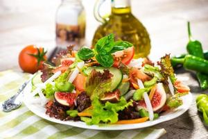 gezonde frisse salade