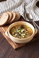 soep met champignons