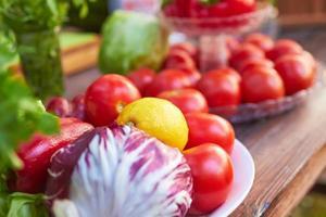 groenten op een bord