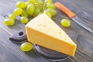 kaas en druif foto