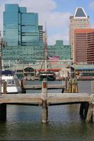 oud en nieuw - Baltimore Inner Harbor North foto