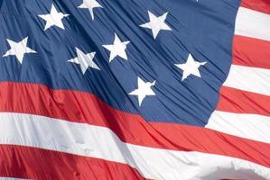 de met sterren bezaaide bannervlag - Baltimore, Maryland foto