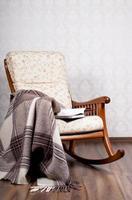 moderne schommelstoel foto