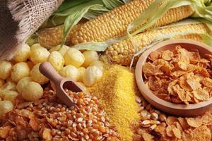 maïs producten foto