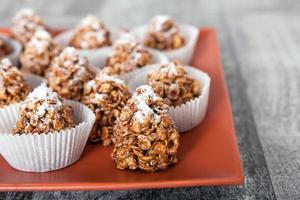 cornflakes met karamel foto