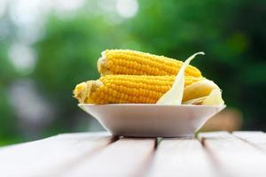 maïs op het bord foto