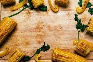 heerlijke maïs