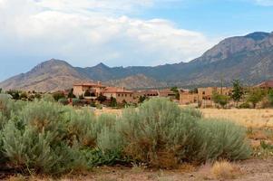 droomhuis in het zuidwesten van de vs foto