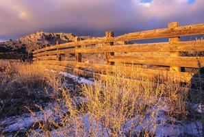 natuur landschap zonsondergang foto