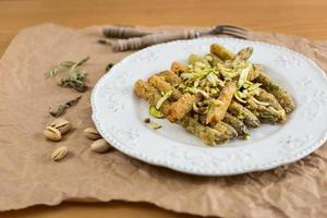 gebakken asperges foto