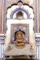 haveli-fresco's en ganesha foto