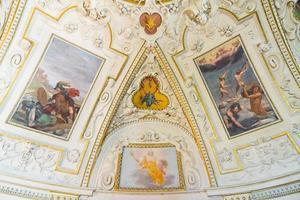 fresco in senat, Praag foto