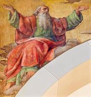 Wenen - het fresco van de profeet Jesaja foto