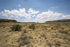 woestijn mesa scène foto