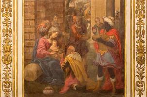 cordoba - de aanbidding van magi fresco
