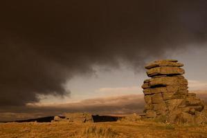 Dartmoor landschap foto
