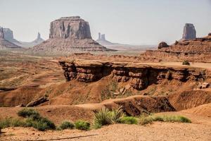 Monument Valley, Utah en Arizona foto