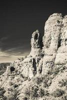 woestijnvorming in Arizona foto