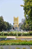 het centrum van Sacramento, Californië foto
