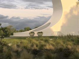 zonnewijzerbrug - Redding, Californië - hdr