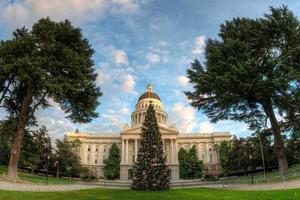 capitol kerstboom foto