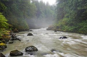nacksack rivier. foto