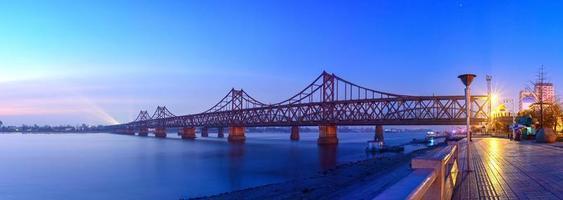 yalu rivierbrug foto