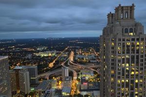 Atlanta, Georgia (nacht) foto