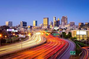 Atlanta, georiga stadsgezicht foto