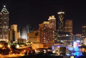 Cityscape van Atlanta foto