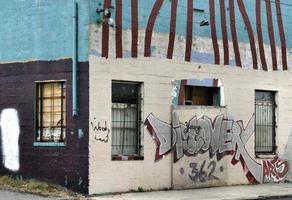 stedelijke graffiti foto