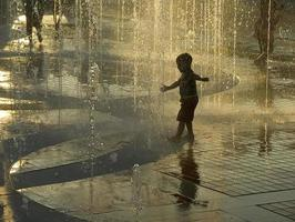 gouden fontein