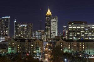 het centrum van Atlanta foto