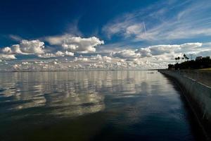 middag uitzicht op de baai foto