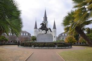Saint Louis Cathedral Jackson Square foto