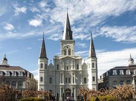 st. kathedraal van louis, new orleans foto