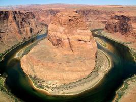 hoefijzer bocht, Colorado rivier foto