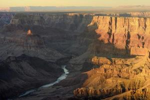 Grand Canyon Colorado rivier foto
