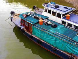 rivierscène in singapore foto