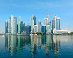 singapore wolkenkrabbers foto
