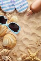 zomer frame achtergrond foto