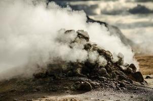 fumarole - IJsland