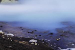 blauw water foto