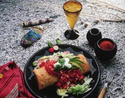 exotisch voedsel foto