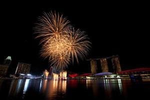 singapore vuurwerk foto